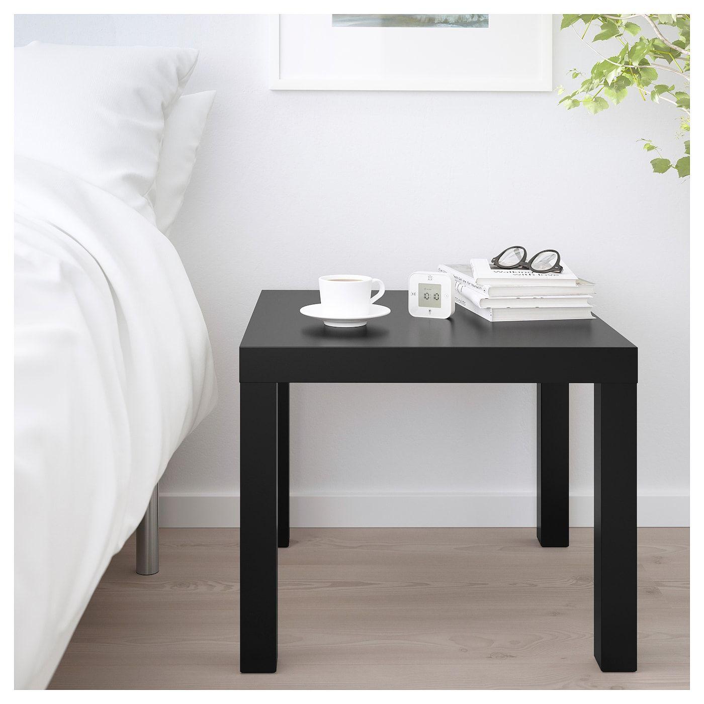 Ikea Lack Side Table, Black