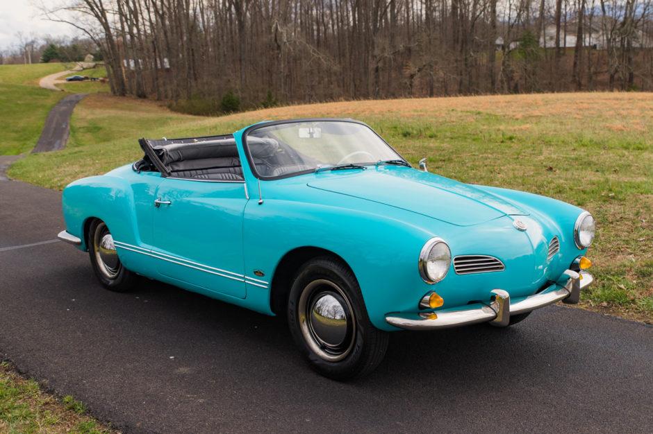 1964 Volkswagen Karmann Ghia Convertible #volkswagen