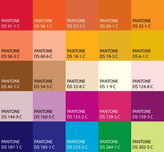Happy Color bollywood color palette, loving bright vibrant punks and corals
