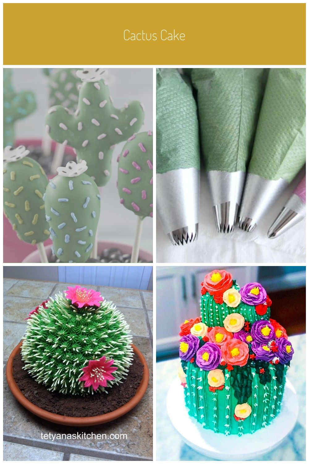 Learn How To Make Cute Cactus Cake Pops For An Edible Garden Of Treats These Succulent Themed Desserts Are Perfect To Make For Any Occasion Like Birthday Brida In 2020