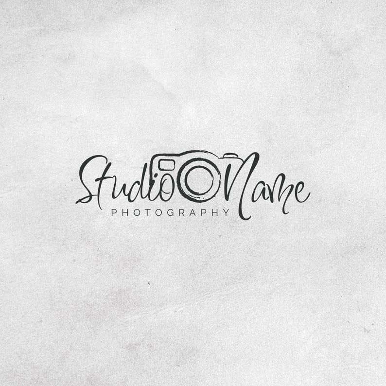 Instant Logo Design Photography Logo And Watermark Camera Etsy In 2020 Photography Logo Design Photography Name Logo Photography Logos