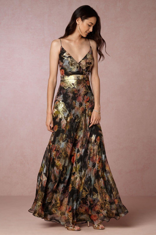 Metallic Floral Maxi Dress For Fall Wedding Guest Attire New Dresses For Fall The Lupita Dress Fr Wedding Attire Guest Fall Wedding Guest Dress Guest Attire [ 1500 x 1000 Pixel ]