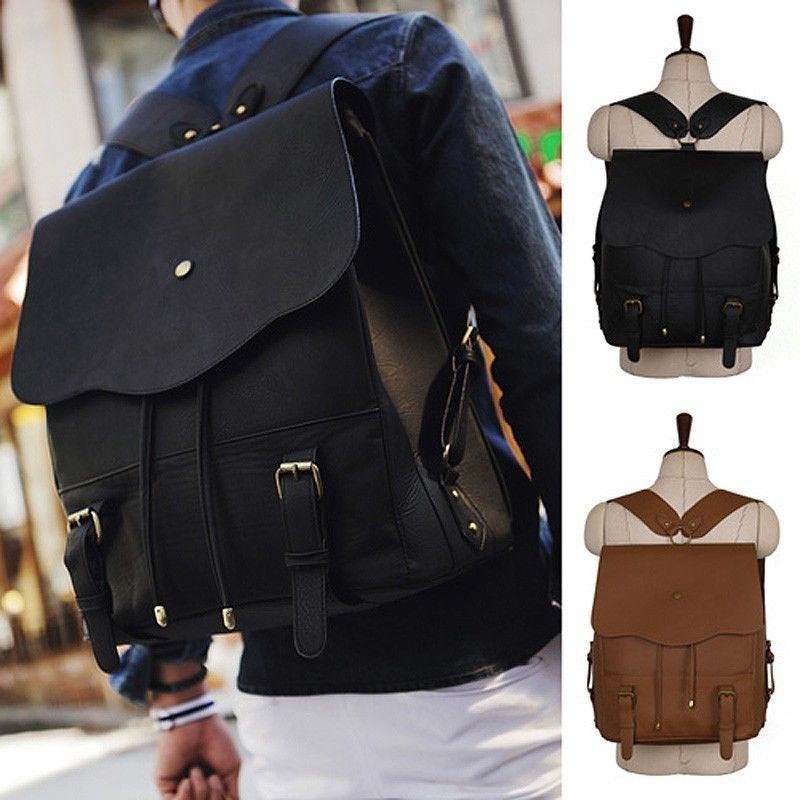 Details about ChanChanBag Men's College Backpack School Bag for ...
