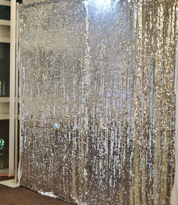 Sale 10 Ft X 20 Ft Sequin Silver Backdrop Photo Prop Curtain