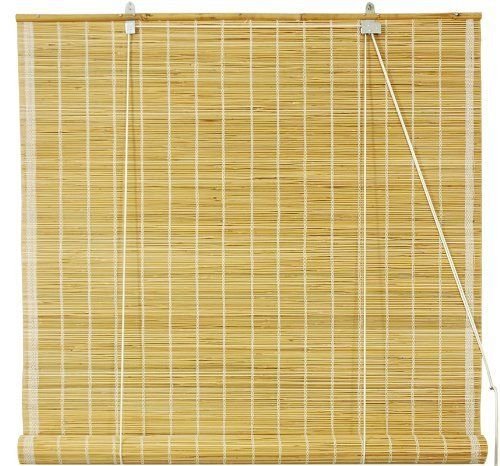 Art Wood Roll Up Blinds: Oriental Furniture Matchstick Roll Up Window Blinds