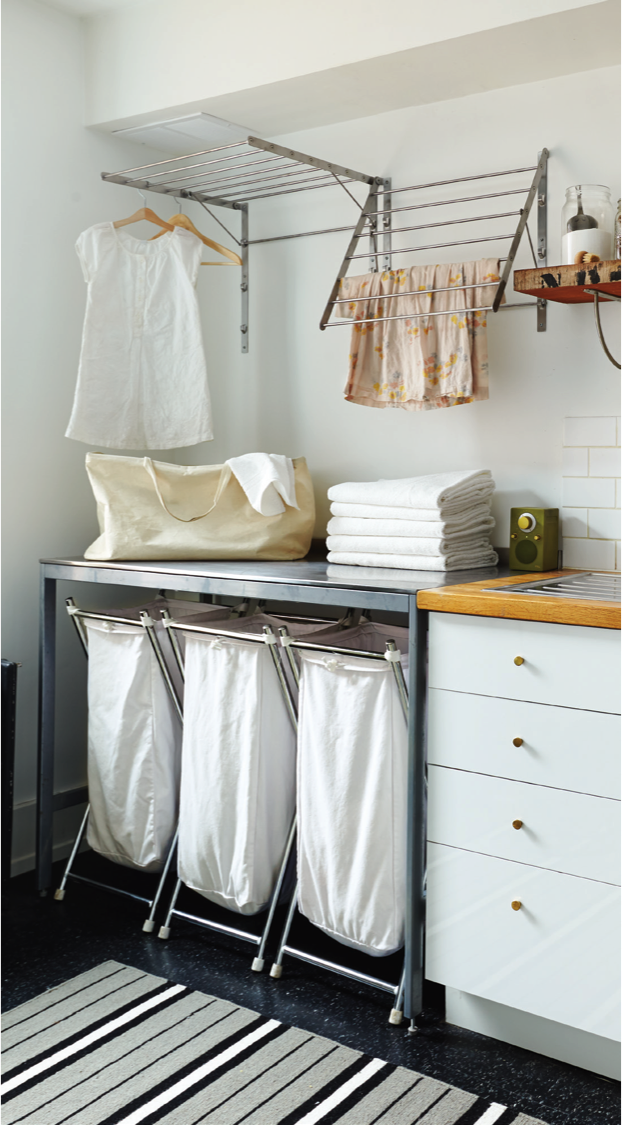 Beau Spotted In Chatelaine: GRUNDTAL Drying Racks Used To Turn A Laundry Room  Into The Ultimate Functional Space.