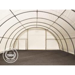 Photo of Rundbogenhalle 9,15 x 12 m Pe 350 g / m² dunkelgrün wasserdicht Zelthalle, Industriezelt, Agrarzelt Toolp