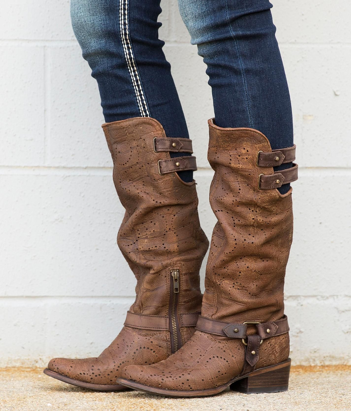 Corral Deer Riding Boot - Women's Shoes | Buckle | BUY ME ...