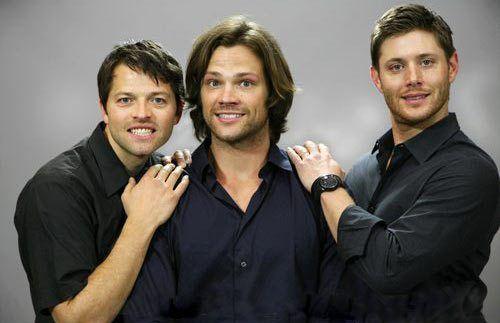 supernatural awkward family photo