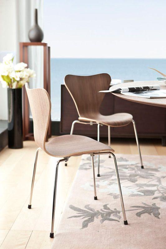 Replica Arne Jacobsen Series 7 Chair By Arne Jacobsen Matt Blatt