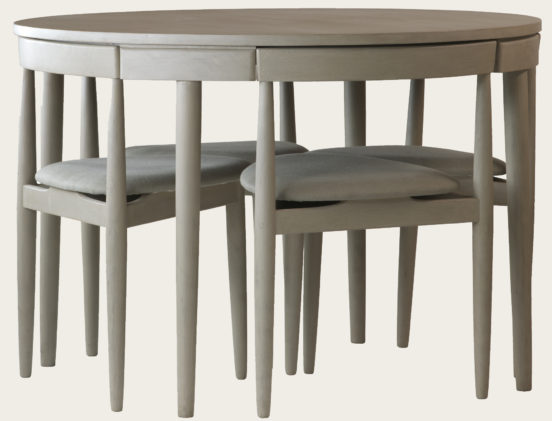 Round Table With Four Chairs Three Legs Mid Chelsea Textiles Small Kitchen Table Sets Small Kitchen Tables Small Round Kitchen Table