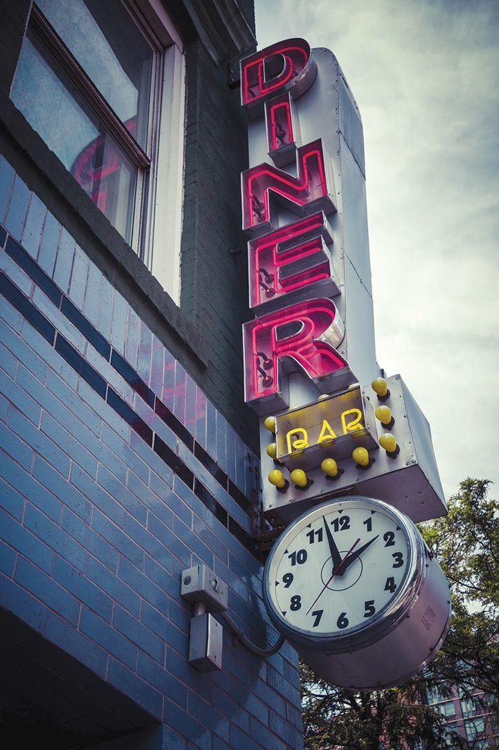 Newyorkcity usa photography diner vintage diner