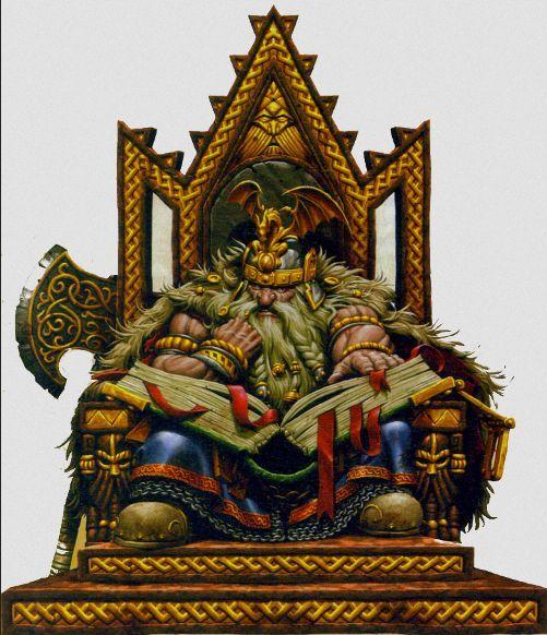 m Dwarf Fighter noble Thorgrim Grudgebearer holder of the Dwarven book of Grudges throne fortress