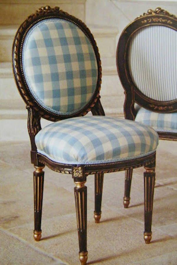 Si tienes una silla cl sica como esta renu vala con un for Sillas clasicas