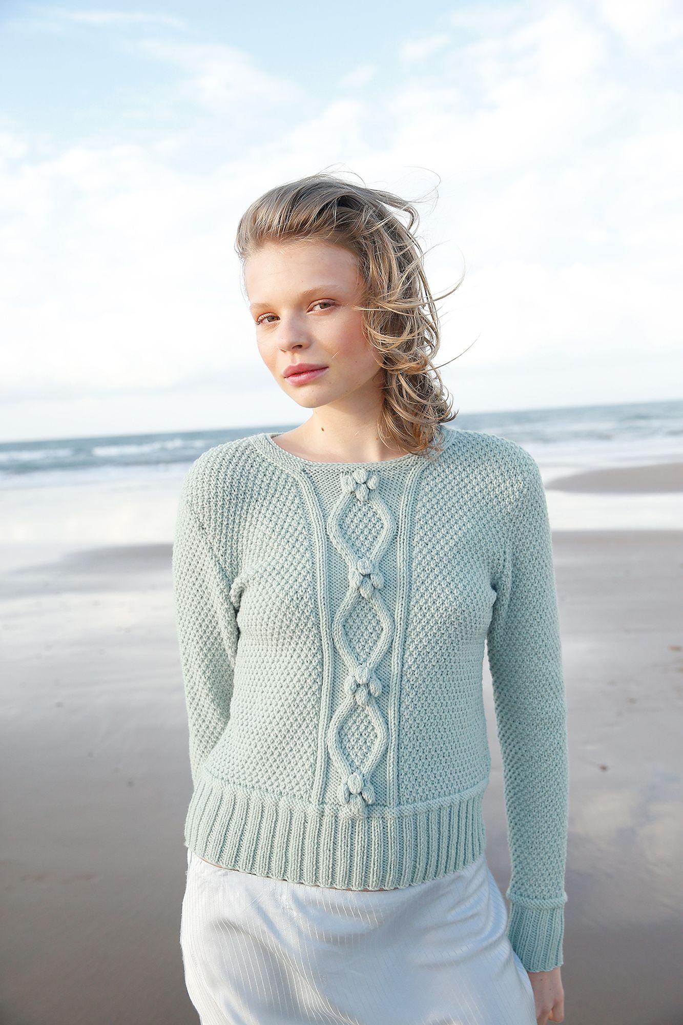 Pulllover Mit Rhomben Knit Fashion Für Den Frühling Rebecca