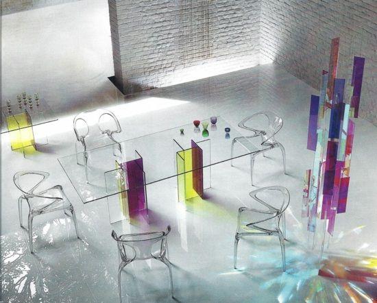 Choisir les chaises salle à manger design - 20 idées Rochebobois
