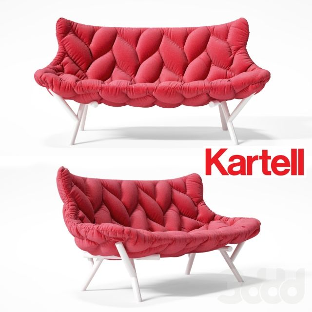 Kartell Foliage Model Available On Turbo Squid The World S Leading Provider Of Digital Models For Visualization Films Television And