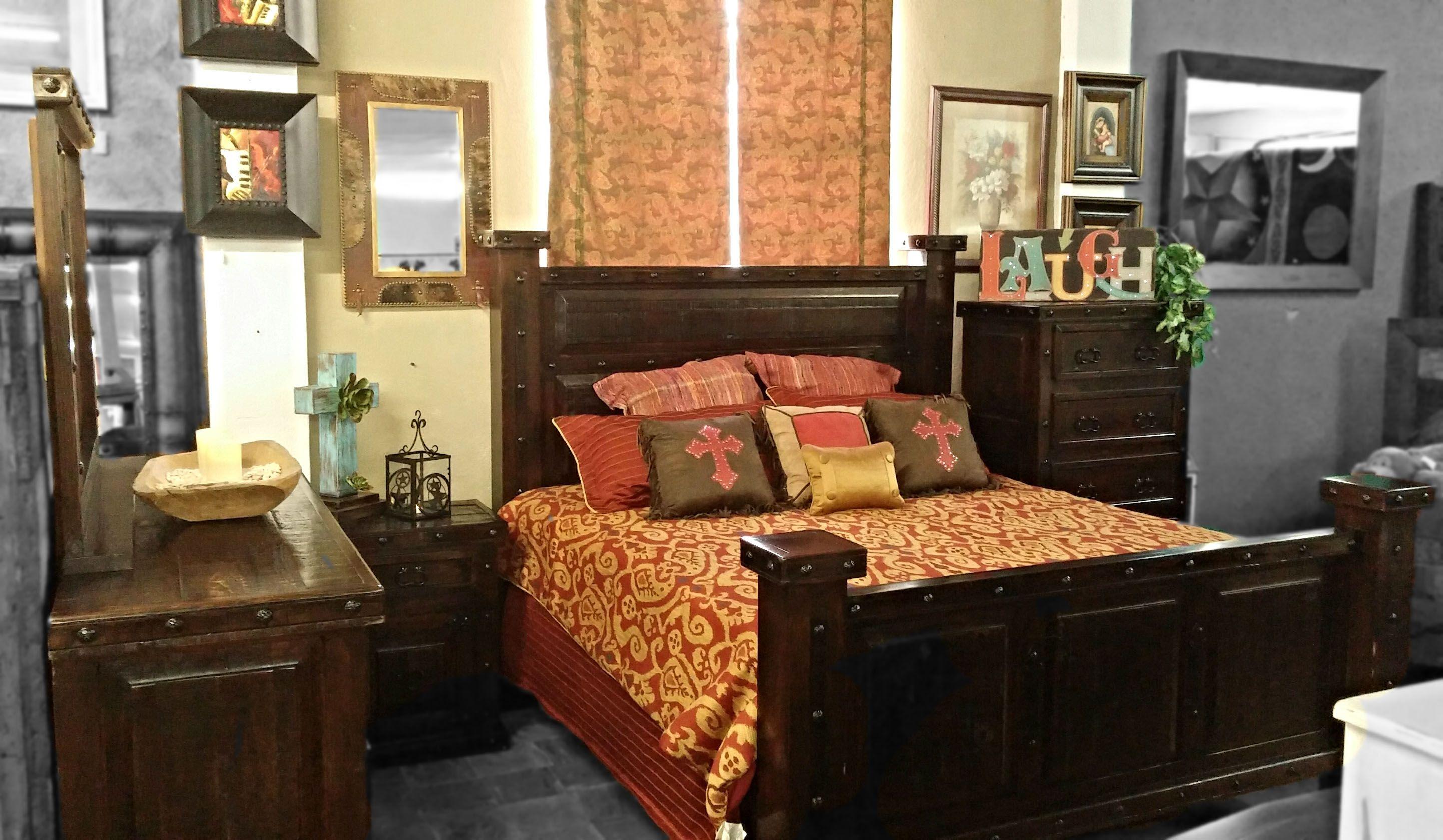 Bedroom Suites | Santa Fe Terra Western Furniture | Bedrooms ...