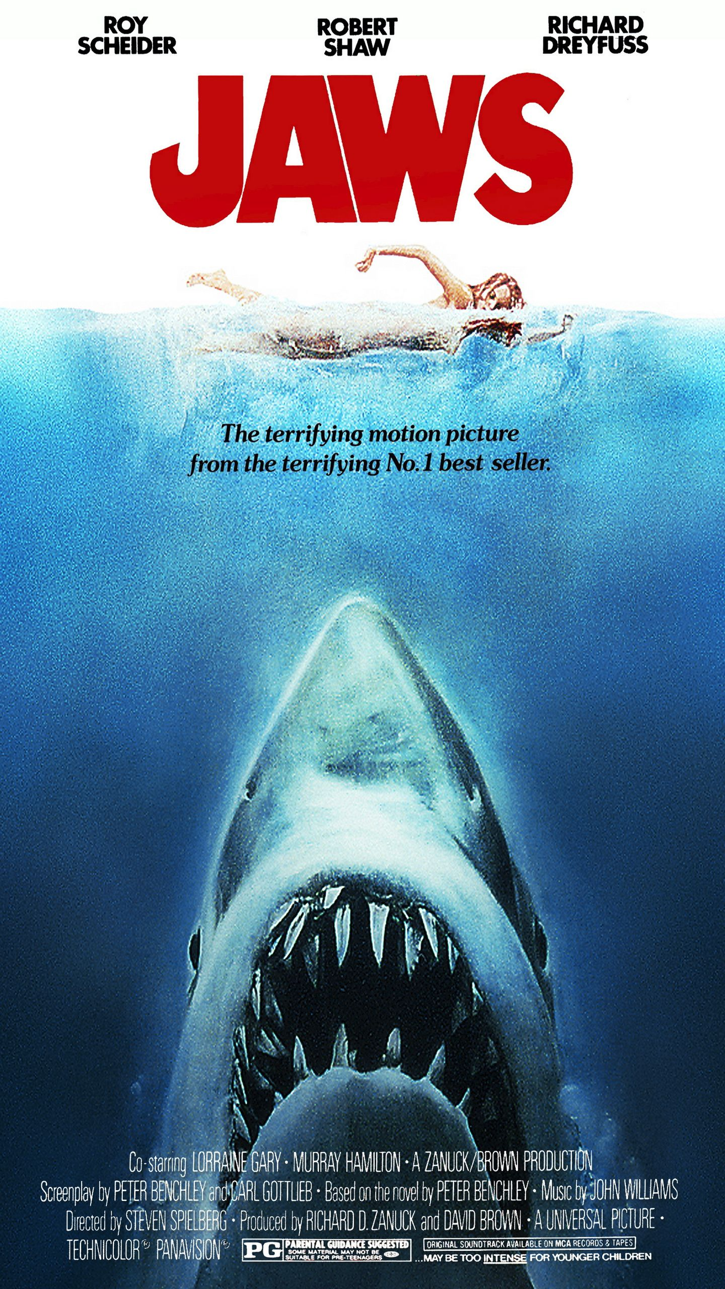 jaws hd wallpaper famous movie