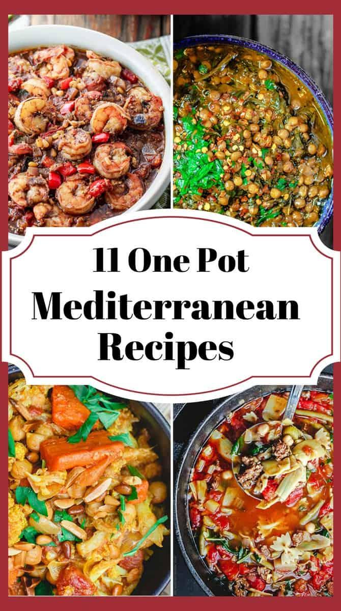 One Pot Recipes with a Mediterranean Twist