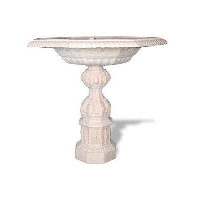 Amedeo Design ResinStone English Bird Bath Color: