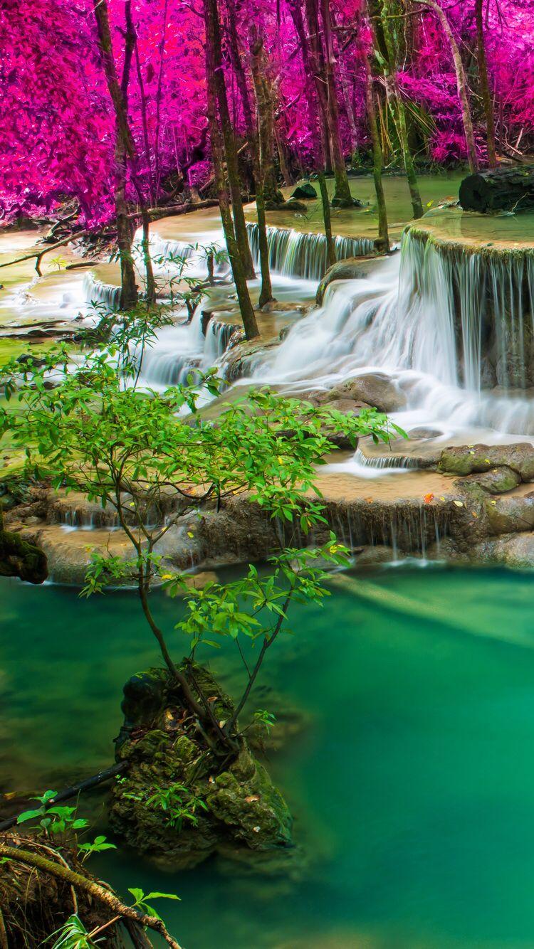 Pin by eddie thompson on wallpapers waterfall beautiful - Beautiful nature wallpaper zedge ...