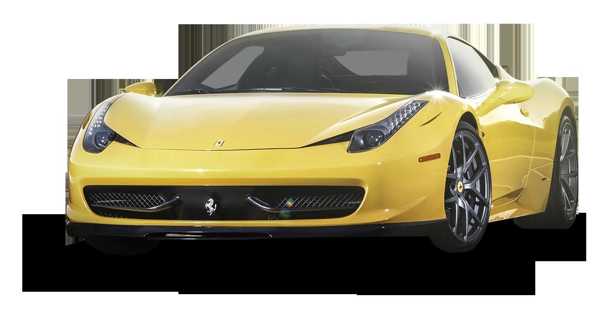 Pin On Yellow Ferrari