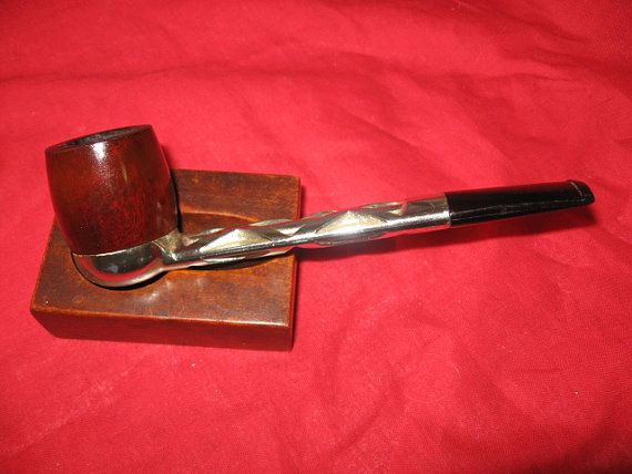 Vintage Estate Pipe Nylon Pipe with removable bowl by OsanyinPipes