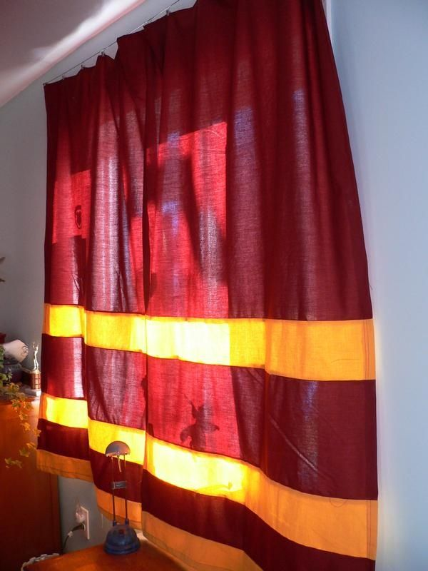 Harry Potter Window Curtains Google Search Bedroom