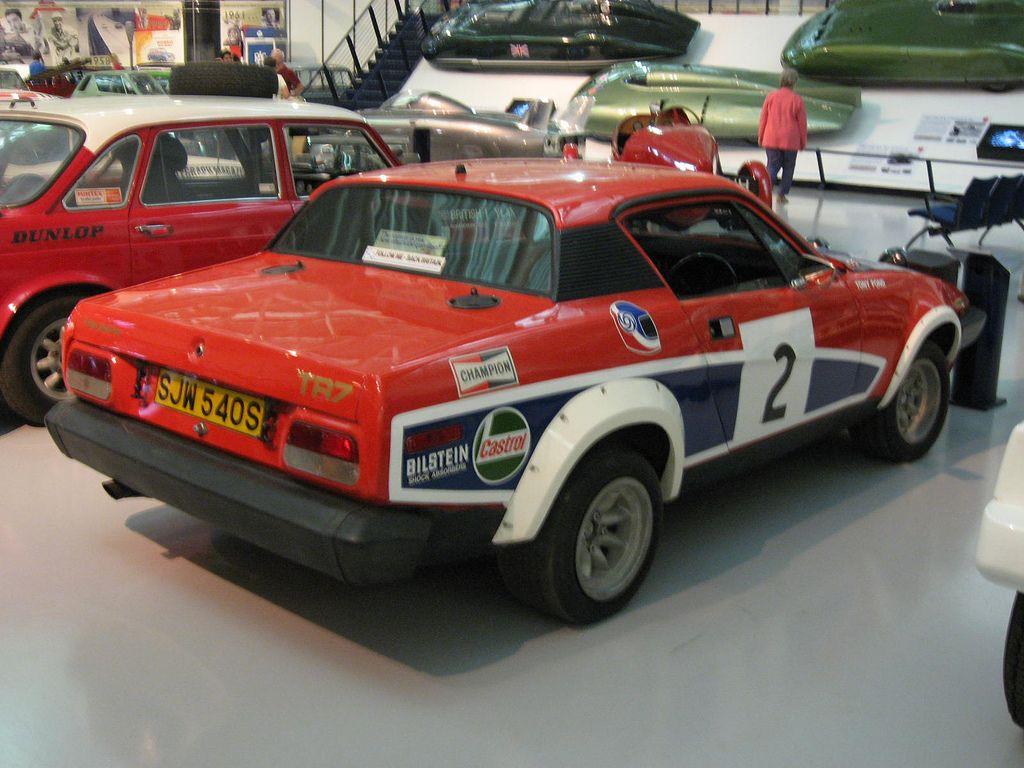 1978 Triumph TR7 V8 Rally Car. Looks a little bit like a Lancia ...