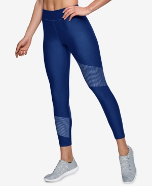 Under Armour Heatgear Compression Ankle Leggings Blue