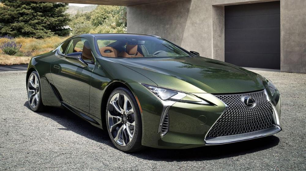 Lexus LC 500 Inspiration Series, Nori Green Paul
