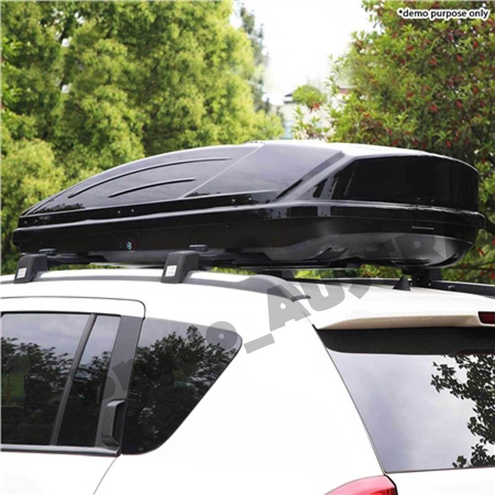 Universal 450L Aerodynamic Roof Rack Luggage Box Pod