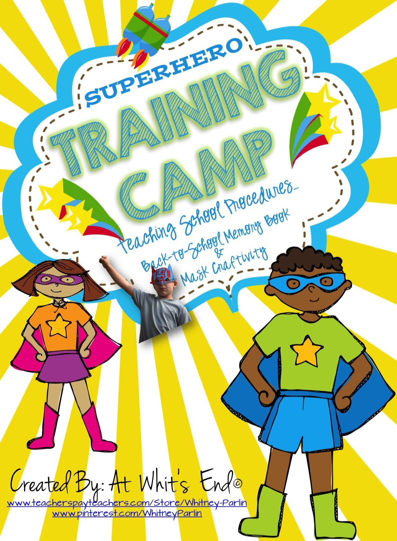 Teaching Rules And Student Expectations Superhero Training Camp