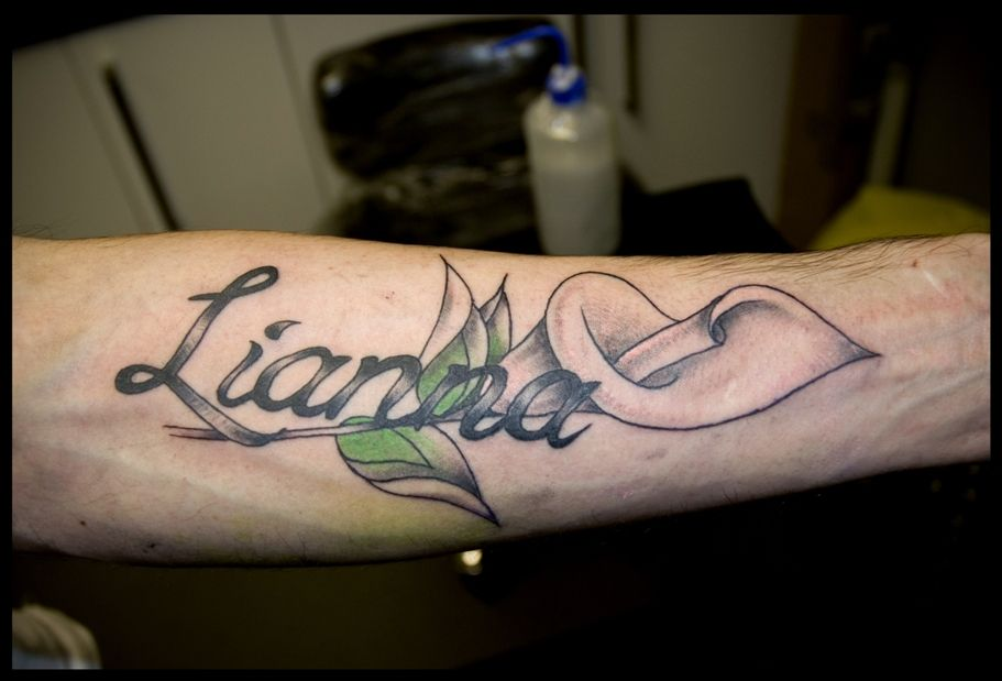 Calla Lily Name Tattoo Designs Name Tattoos For Moms Lily Tattoo