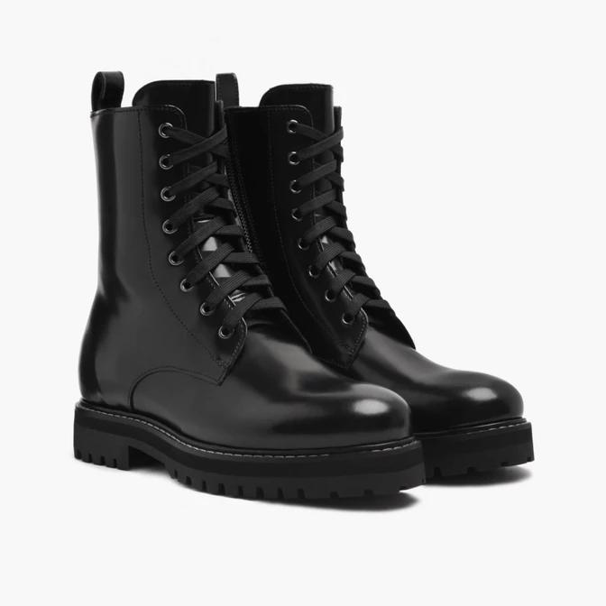 Combat | Black | Combat boots, Womens