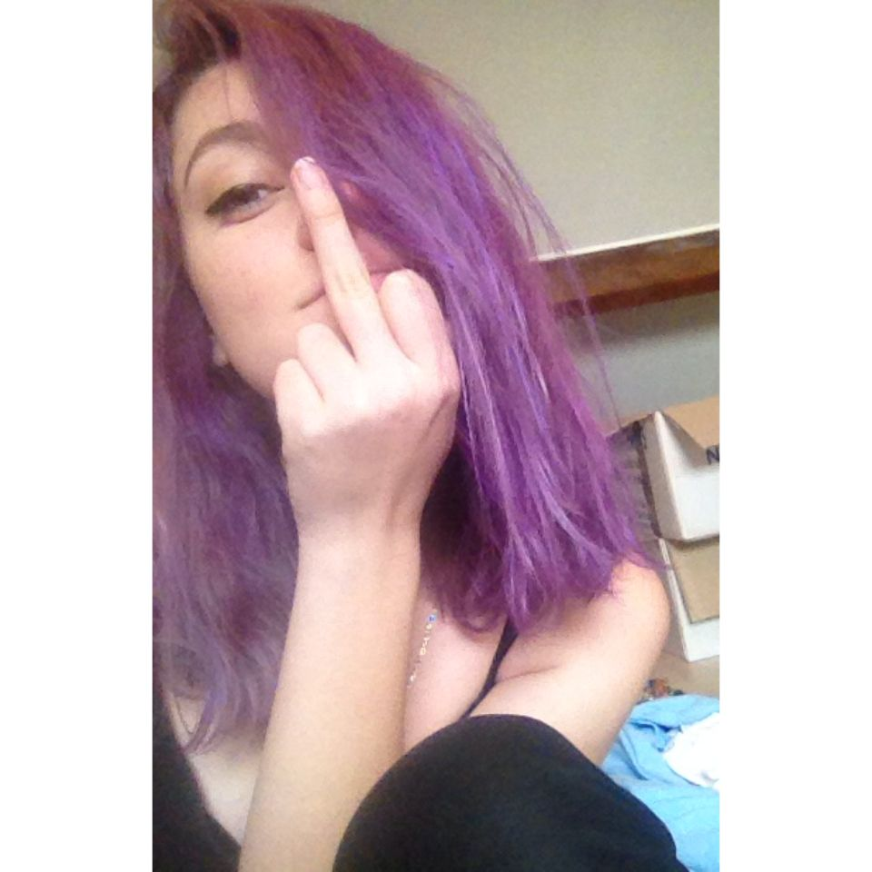 Purple hair don't care