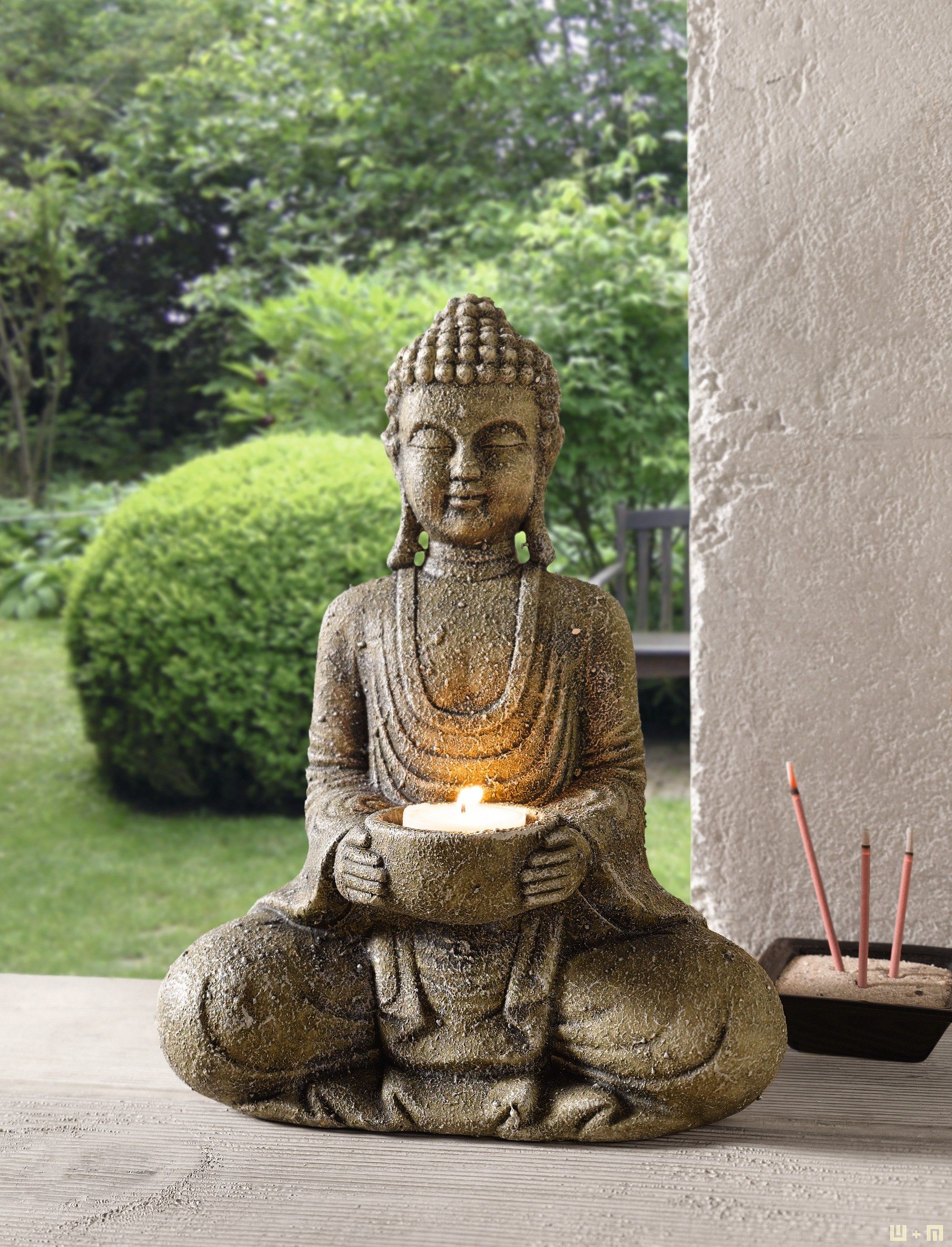Kerzenhalter Buddha Buddha Decor Buddha Statue Home Buddha