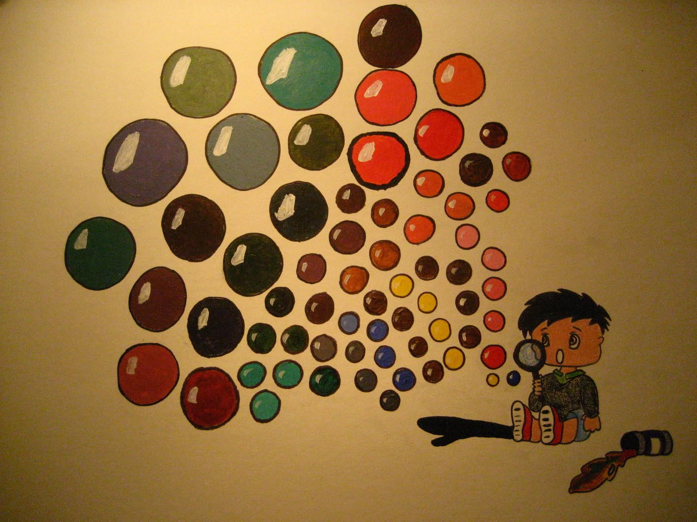 Joseph T Animation Art Color Wheel Project