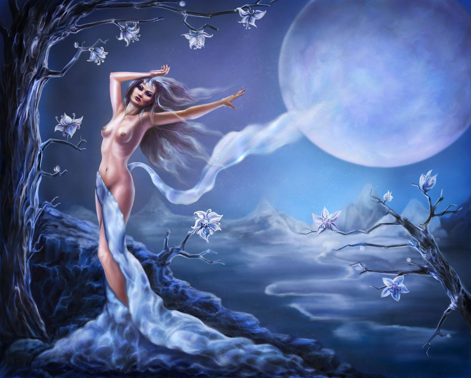 Beautiful Moon Fairy