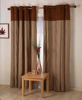 Inspirasi Desain Gorden Untuk Memperindah Ruang Tamu Living Room Decor Curtains Brown Living Room Curtains Living Room