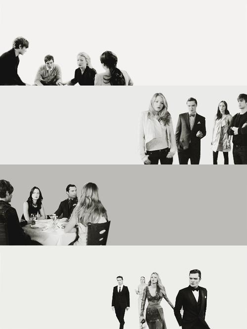 Chuck, Blair, Serena, Nate