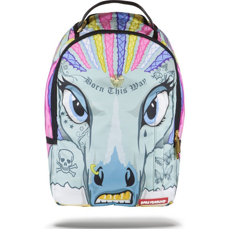 4fc10b0ae8a Sprayground 3D Unicornrows Backpack | Rainbow Unicorn | Backpacks in ...