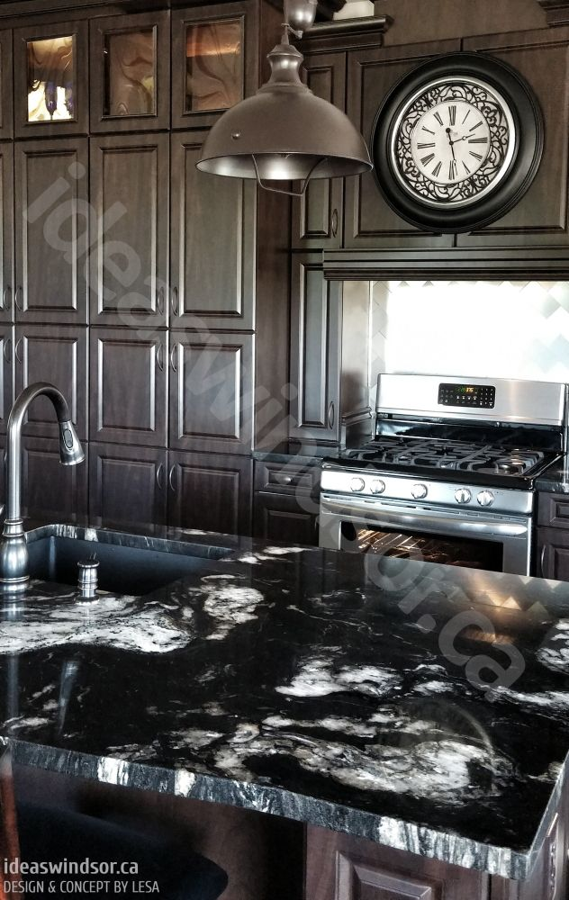 Chocolate Delight One Of Our Recent Full Kitchen Designs And Interesting Kitchen Design And Installation Review