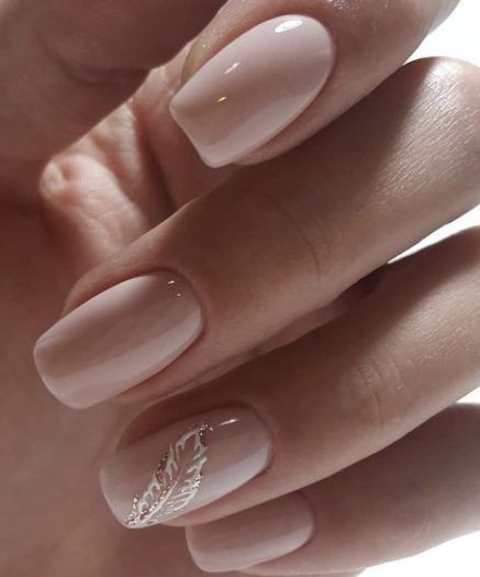 34+ Trendy Nails Design Natural Simple - Nagel Design Germany