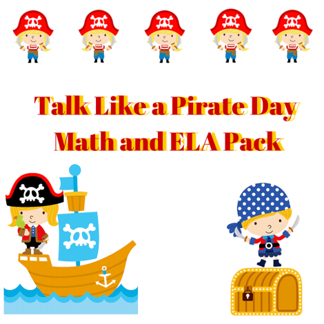 Happy Talk Like a Pirate Day!  Freebies and Good Deals!