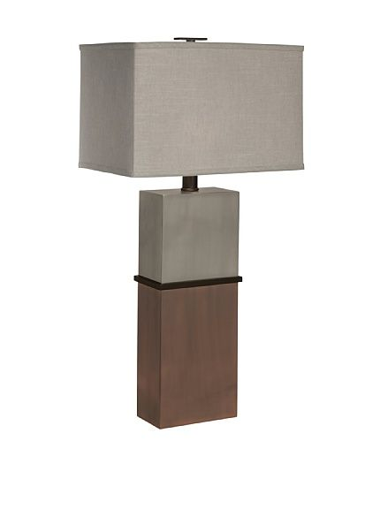 Tall And Handsome Taurus Table Lamp By Thumbprints Lighting