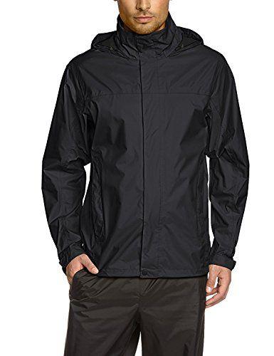 Coofandy Men S Lightweight Waterproof Hooded Rain Jacket Front Zip Outdoor Raincoat Poncho