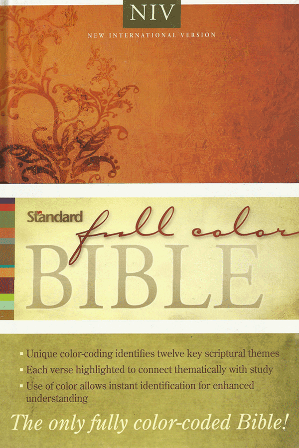 Niv Standard Full Color Bible Clc Philippines Bible Bible Coloring Bible Study