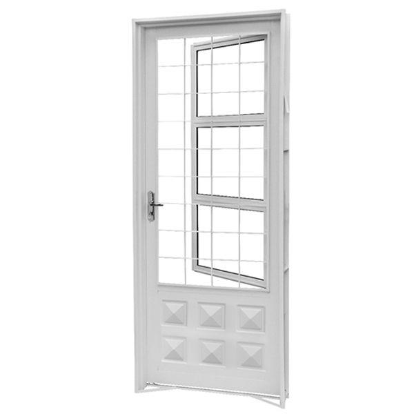 2.15×0.84m CRV Swing Painted Steel Door